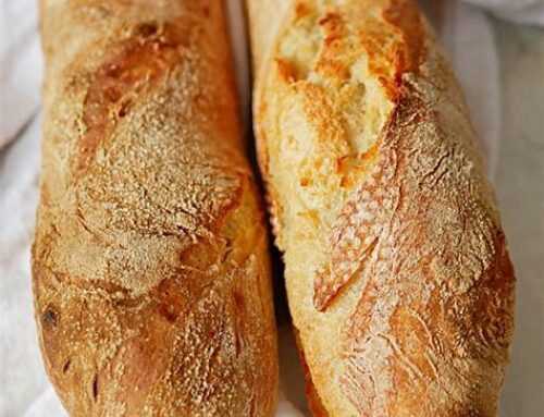 Marge sur une baguette de pain !